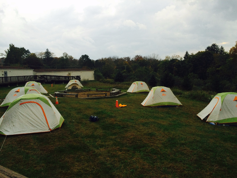 Ridge and Valley Charter School Outdoor Overnight Expeditions Tents