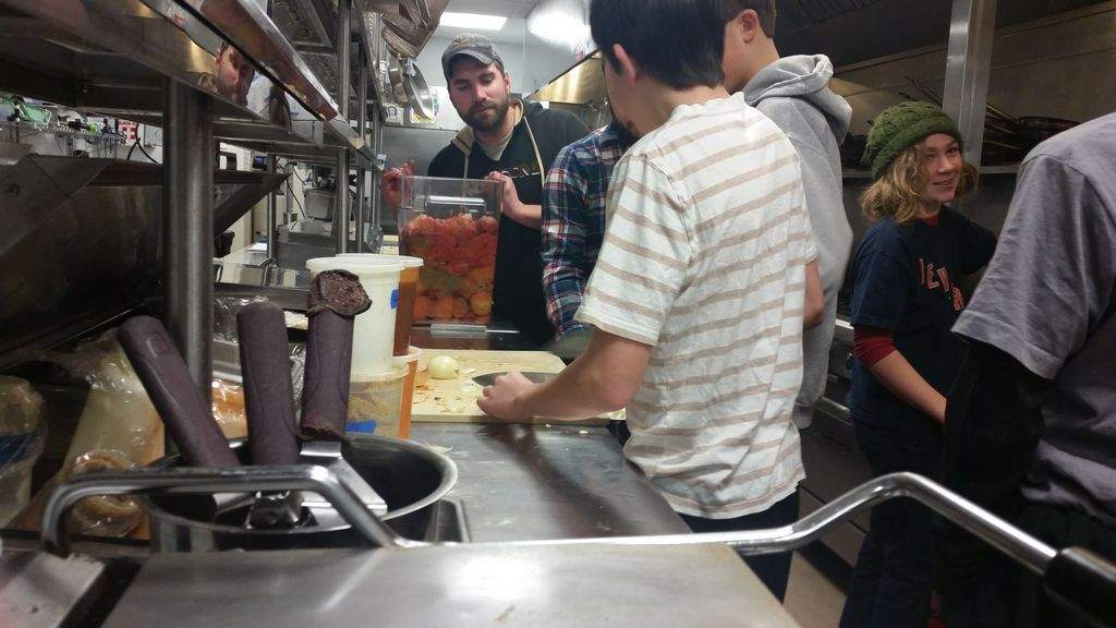 Ridge and Valley Charter Students prepare, donate soup