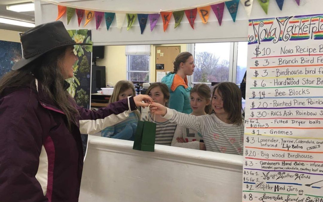 Student-Led Market Raises Money for Overnight Expedition – Ridge and Valley Charter School