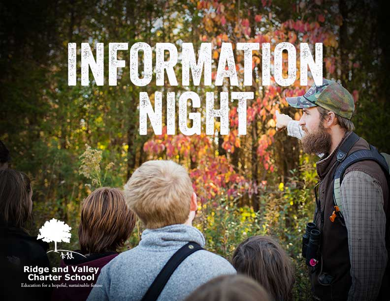 Information Night, October 5th 2017 – Ridge and Valley Charter School