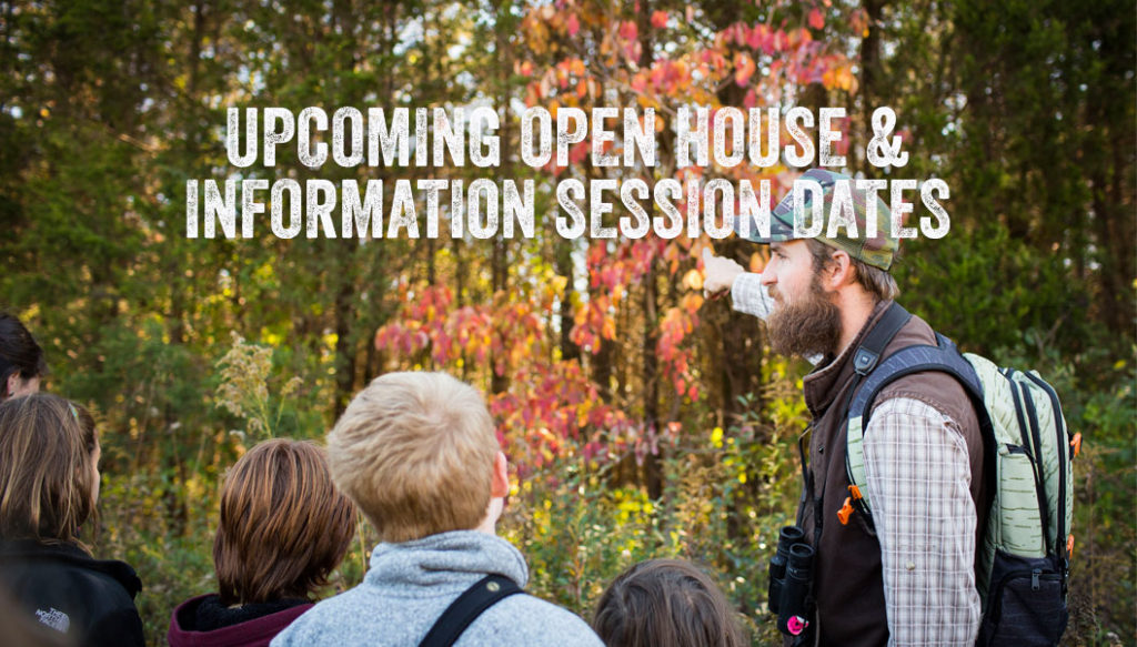 Open House & Information Session Dates